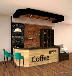101 Outstanding DIY Coffee Bar Ideas For Your Cozy Home / Coffee Sh . - 101 great DIY coffee bar ideas for your cozy home / coffee shop Small Coffee Shop, Coffee Shop Bar, Coffee Bar Home, Coffee Coffee, Coffee Bars, Starting A Coffee Shop, Coffee Maker, Roasters Coffee, Bunn Coffee