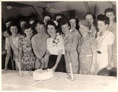 vintage wedding, cutting the cake | Flickr - Photo Sharing!