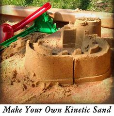 Make Your Own Kinetic Sand