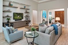 Naples Beach Coastal Retreat Series - beach-style - Living Room - Other Metro - 41 West