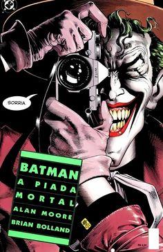 Quadrinhos Clássicos o dia que o Batman riu de uma piada do Coringa - Quadrinhos Clássicos - Herói