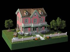 Victorian Dollhouses Gallery - Cape May Cottage