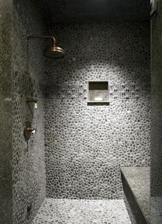 Shower/Bathroom Catalano Architects Inc. Photo by Ed Tarca