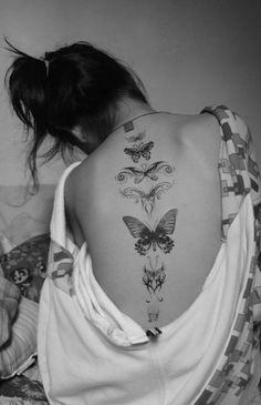 Butterflies | Tatspiration.com - Your home for discovering tattoo ideas and tattoo inspiration.