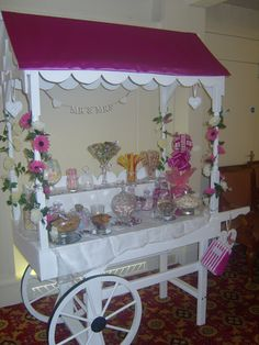 Say Hello To...Sweet Dreams Candy Cart