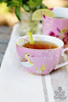 Sweet Honey Mint Green Tea