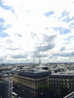 Paris, vue des toits Paris City, City Life, Paris Skyline, Travel, Viajes, Trips, Traveling, Tourism, Vacations