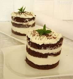 Kakaový dezert s tvarohem pro diabetiky - recept | Varecha.sk Tiramisu, Ethnic Recipes, Food, Diet, Meals, Yemek, Eten, Tiramisu Cake