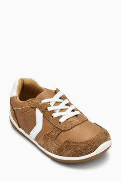 96afb986e60 Image result for next Tan First Walker Trainers (Younger)