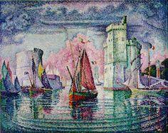 Con el puntillismo el dibujo se forma a partir de puntos y no de líneas. El pintor francés Georges Seurat es generalmente nombrado el padre del puntillismo.