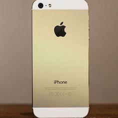 En Septiembre tendremos un iPhone dorado - http://www.entuespacio.com/en-septiembre-tendremos-un-iphone-dorado/
