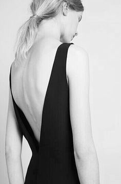 Chic Minimal Style - understated black dress; minimalist fashion // Catherine Quin