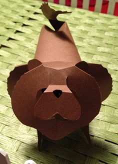 Chow Chow Paper Pup Origami by PaperPupGrowlers on Etsy, $18.00