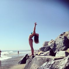 not exactly at the pure. love. yoga. studio, but such a beautiful picture of one of our faves, Stacy Gibson