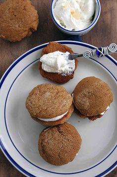 Molasses Cookie WhoopiePies