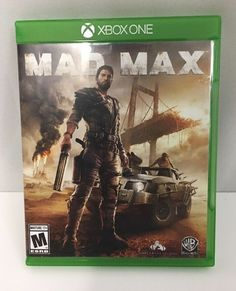 Mad Max XBox One M Mature Video Game Microsoft Build Construct Tame Survival '15