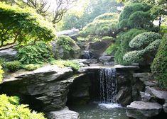 10 Beautiful Backyards with Waterfalls - Most Beautiful Gardens