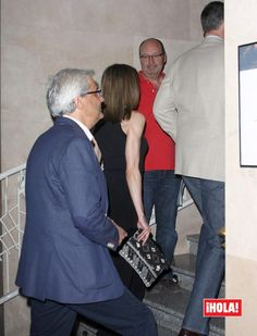 Felipe and Letizia at Rod Stewart's concert in Teatro Real - Madrid 5.July
