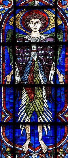 Seraph, c. 1220, Chartres, Cathédrale de Nôtre Dame