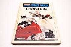 Yamaha TDM850D TDM850DC Service Manual | eBay Motors, Parts & Accessories, Motorcycle Parts | eBay!
