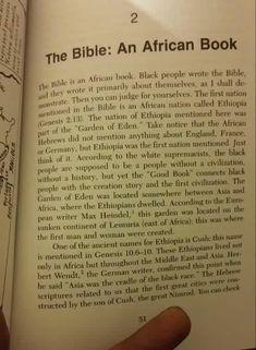 The Bible: An African Book