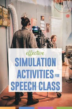 Simulations for speech class: activities that will build student buy-in and engage reluctant speakers. Try these activities in your public speaking class. Public Speaking Activities, Public Speaking Tips, Speech Activities, English Activities, Class Activities, Listening Activities, Therapy Activities, Fun Learning, English Classroom