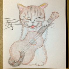 Ukulele & Kitty