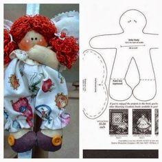 Ceci EuQfiz: Bonecas de pano