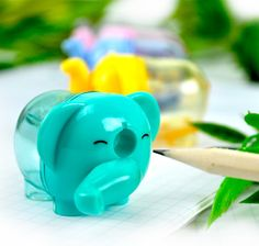 Elephant Pencil Sharpeners ($5.25) at CoolPencilCase.com