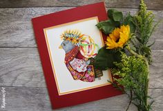 Watercolor. Flowers.Sketchbook. Sketch. Pencil. Illustration. Bright. Art. photo Kupava ArtHome moleckin rooster bird