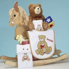 Personalized Maple Rocking Horse