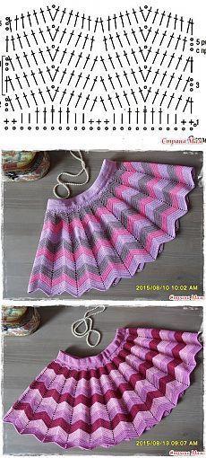 Две юбочки вслед уходящему лету - Вязание - Страна Мам