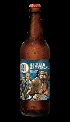Archer & Armstrong American Pale Ale - brewed in collaboration with Valiant Comics | Arcade Brewery