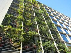 Green Roof Research Architecture Design, Green Architecture, Facade Design, Sustainable Architecture, Sustainable Design, Residential Building Design, Double Skin, Green Facade, Wall Exterior