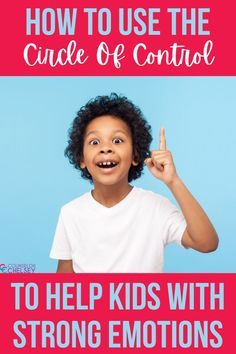 Use these circle of control activities to support students with self regulation. They will help kids learn to focus on the things that they can control. These activities are great for school counselors working with students who have anxiety or struggle with anger management or self control. You can use them in your individual, small group or classroom school counseling lessons!