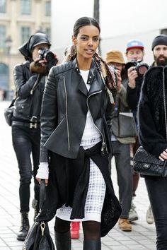 yeah she kills it. #GraceMahary #offduty in Paris.