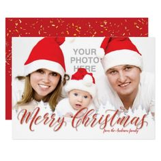 Merry Christmas and Happy New Year Card - New Year's Eve happy new year designs party celebration Saint Sylvester's Day