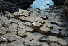 The Giant's Causeway, UNESCO World Heritage Site, North Coast of Ireland