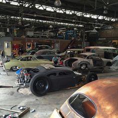 Getting the last few cars ready... @kingstan888