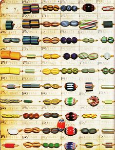 Gallery of Trade Beads African Slave Beads African Currency http://www.ezakwantu.com/Trade%20Beads%20Chart%20-%20The%20History%20of%20Beads.jpg