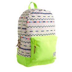 Kid's Herschel Supply Co.® neon settlement backpack