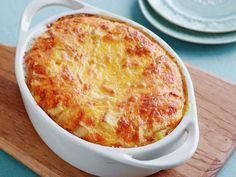 Never-Fail Cheese Souffle Recipe by Food Network Kitchens : Food Network UK Egg Souffle, Cheese Souffle, Cheese Muffins, Cheese Bread, Food Network Uk, Food Network Recipes, Cooking Recipes, Pasta Recipes, Souffle Recipes Easy