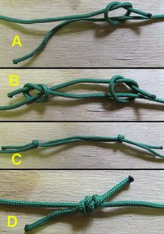 Figure 2 - The Fishermans Knot - Use to make your own hammock
