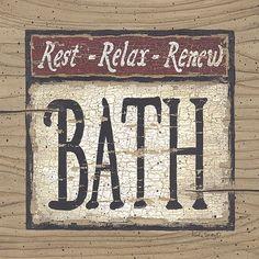 Rest, Relax, Renew