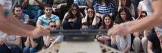 Tendiendo puentes en la UMH - La Universidad Miguel Hernández celebró el XII Concurso de puentes hechos con palillos que organiza la Delegación de Estudiantes. En total, se presentaron 18 maquetas en las categorías de Estética, Movilidad y Peso que construyeron alumnos de las universidades de Elche, Alicante, Murcia e incluso de Polonia. La actividad se celebró al aire libre delante del aulario de Altabix. http://www.diarioinformacion.com/elche/2015/04/24/tendiendo-puentes-umh/1624416.html