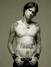 'Everything' came up in my music shuffle while editing photos, and I thought I'd find the video on youtube, then I thought, yep, that's the sexiest muscle on a guy..  #buckcherry #joshtodd