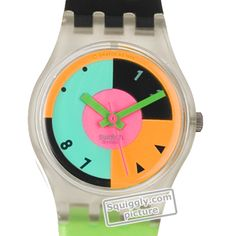 Swatch Hot-Racer LK115 - 1988 Fall Winter Collection