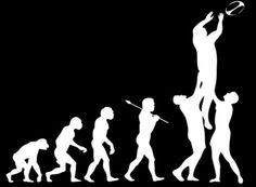 evolution. you're doing it right.