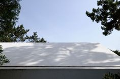 Architecture House In Banzao Design White Roof Creative Outlook of Banzao House