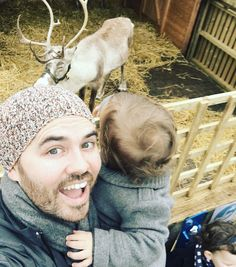 """""""Went looking for the 2015 #sacconejolys Christmas tree and found one of Santa's friends!"""""""